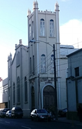 Iglesia Evangelica Presbiteriana Central, the oldest and largest in the Synod