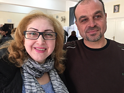 Maysaa and Morhaf Elias in Fairouzeh