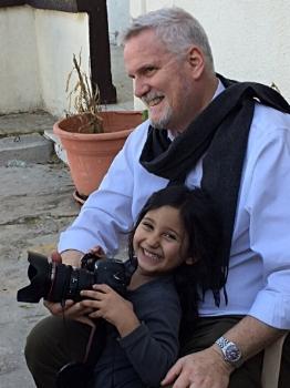 Don Hudson teaching photography