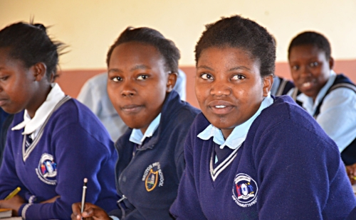 Grace Girls' High School students