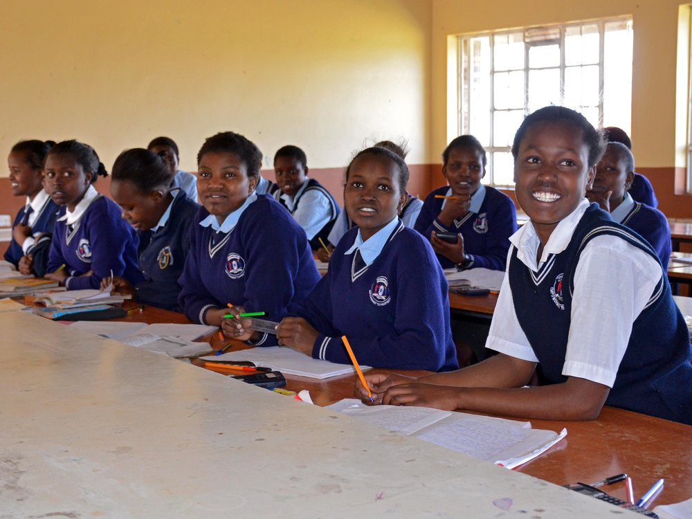 Students at Grace Girls' High School