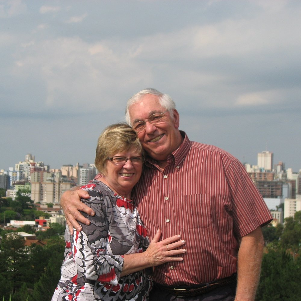 Steve Wright and his wife, Kay, on one of their Brazil mission trips.