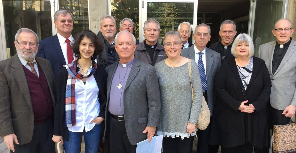 Associate Director Marilyn Borst and Executive Director Rob Weingartner led a group of American pastors and church leaders on a visit to Syria and Lebanon in January 2017.