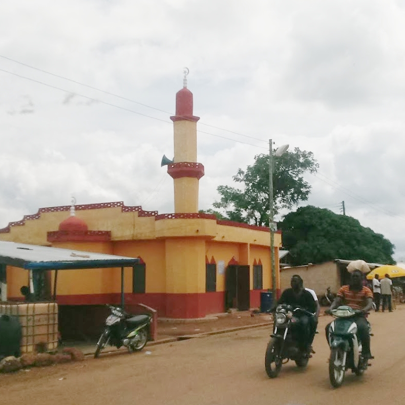 One of the mosques in Tamale.