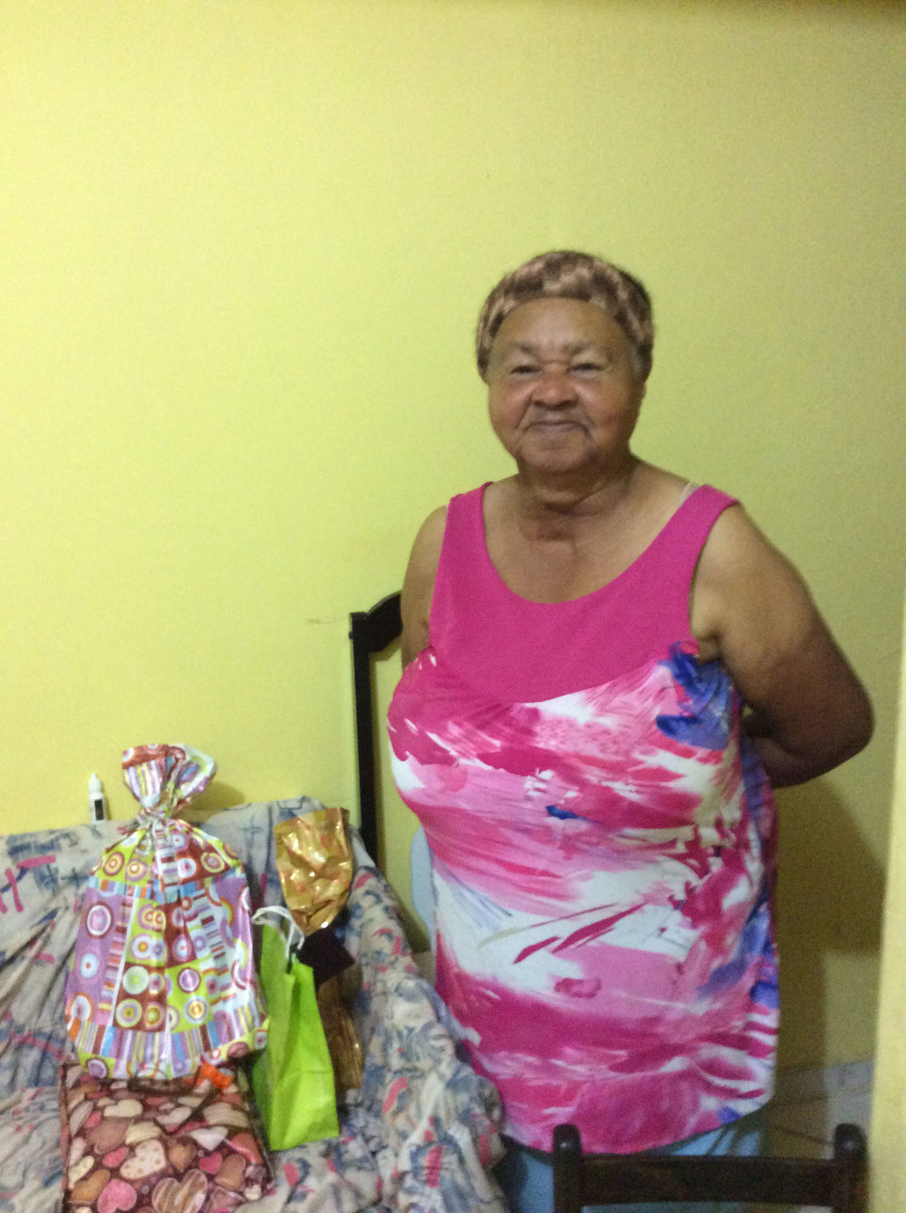 Celebrating Dona Maria's 80th birthday!