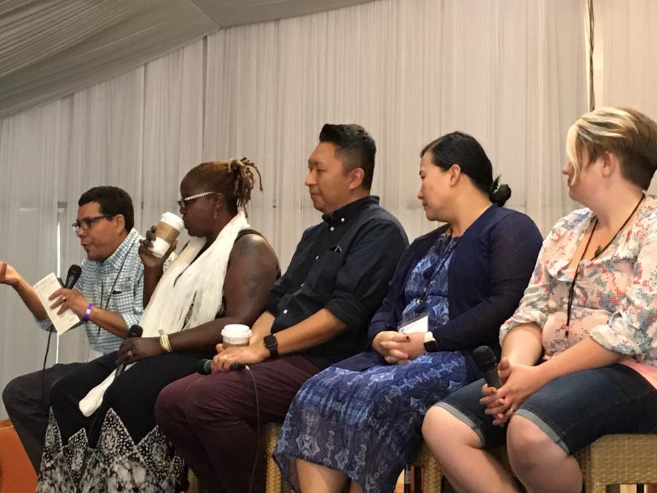 Pannel during 1001 New Worshipping Community National Gathering