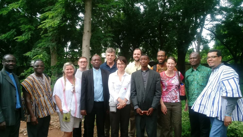 Recent Outreach Foundation visit to the offices of the Northern Presbytery