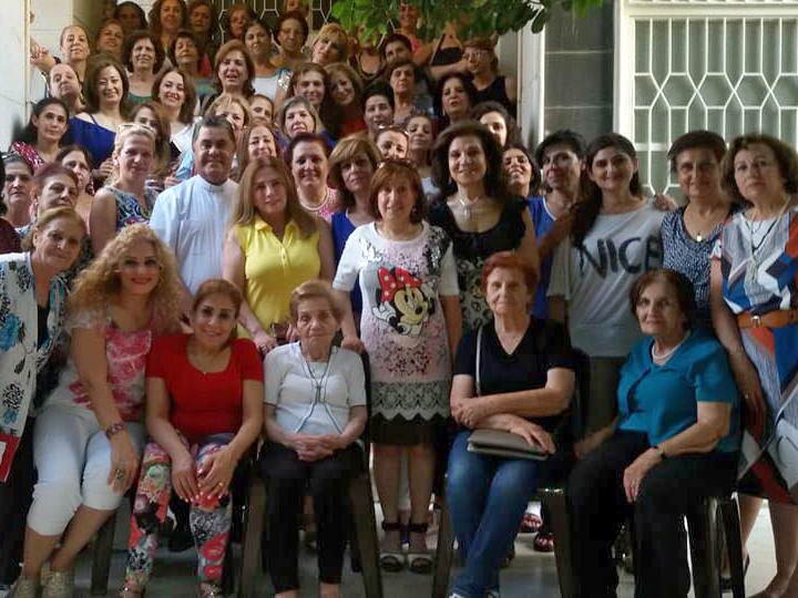 In Damascus, the women of the church restart their monthly meetings.