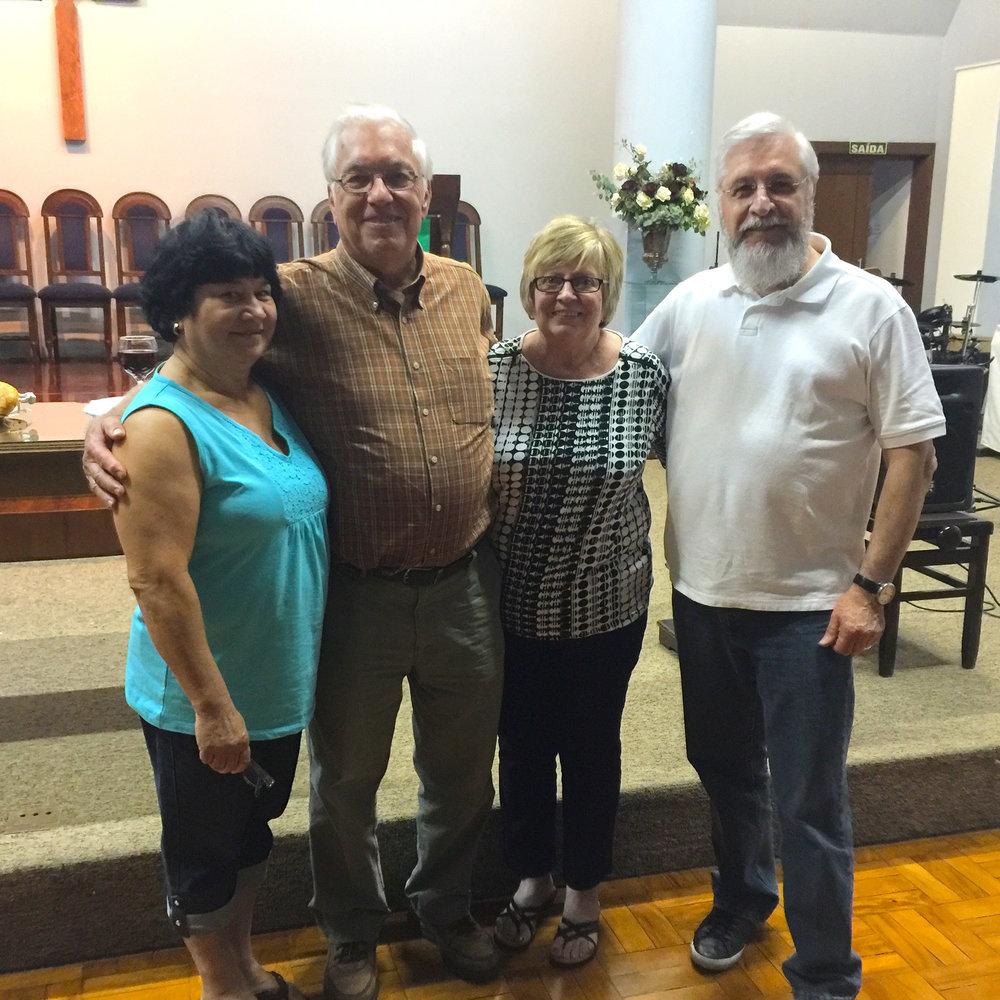Odete, Steve, Kay and Pezini