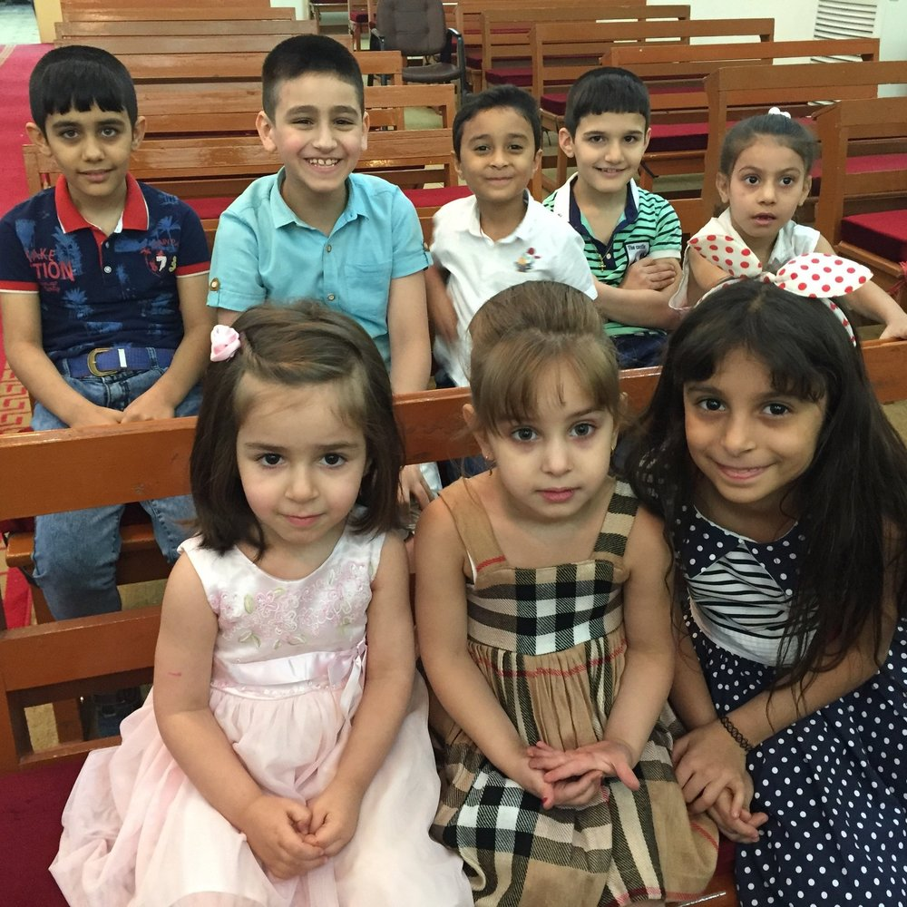 The littlest Presbyterians in Basrah