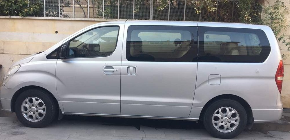 Your act of love provided a van for the Aleppo Church. They can now pick up children for Sunday School.