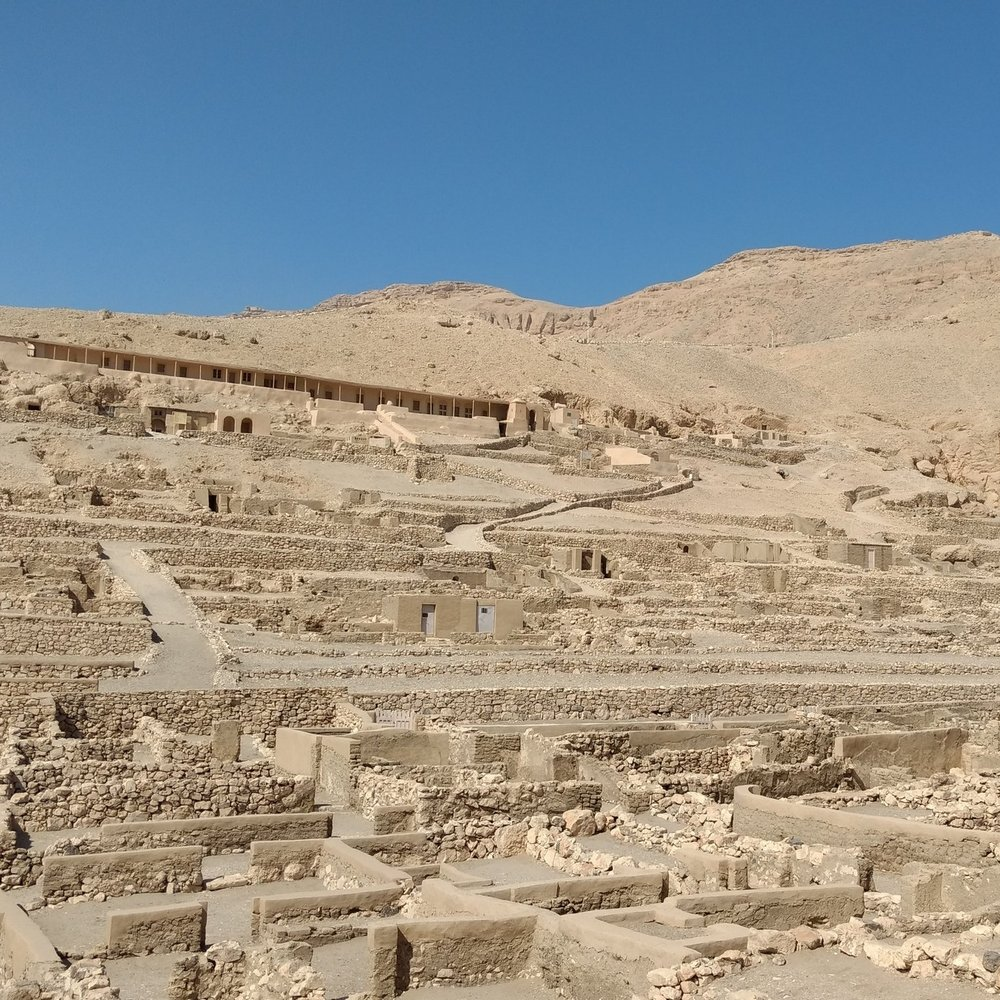 The village at Deir al-Medina