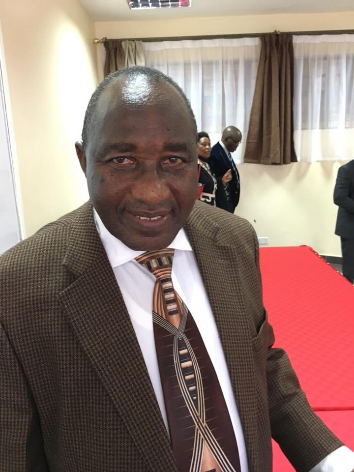 Elder Saphiah Mburu, the visionary and gifted director
