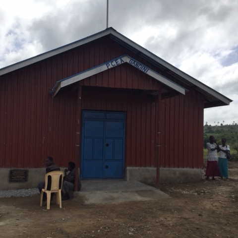 Newly dedicated Gandini Church