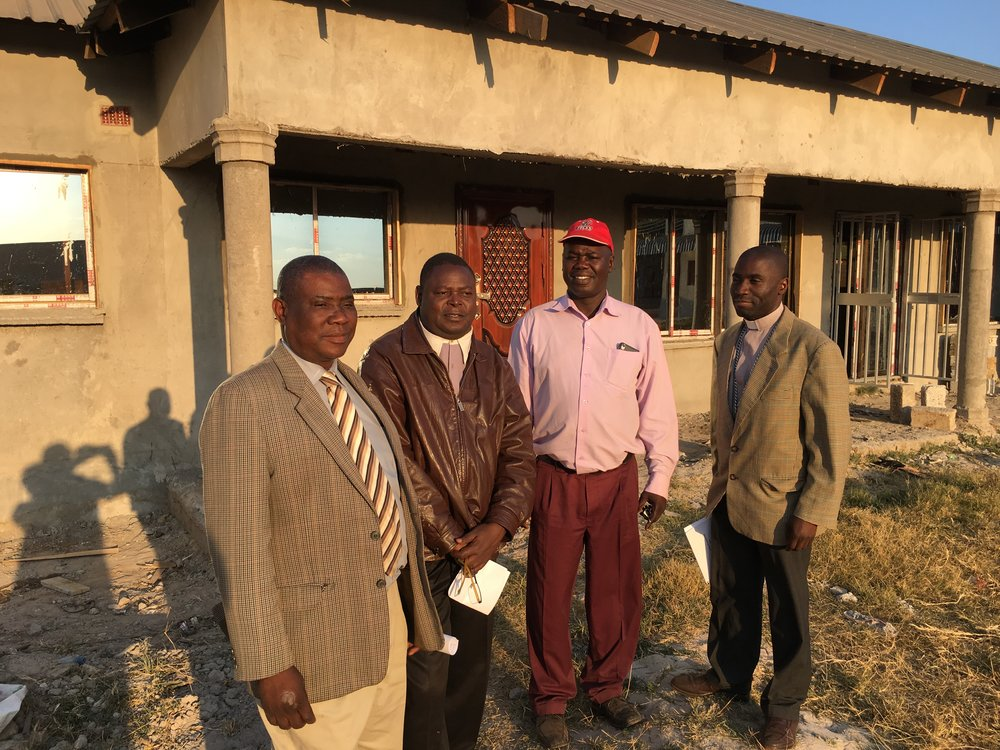 CCAP Zambia church leaders