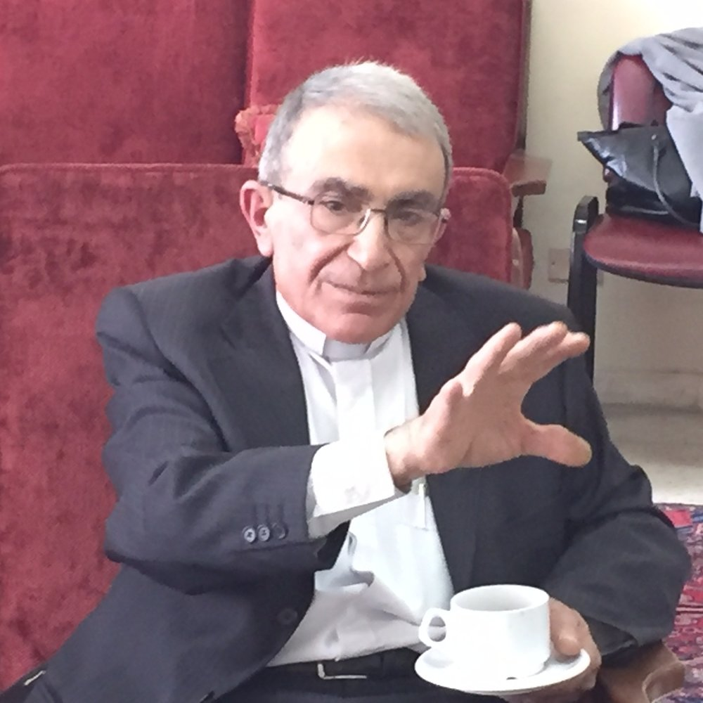 Rev. Michel Boughous, Yazdieh Church