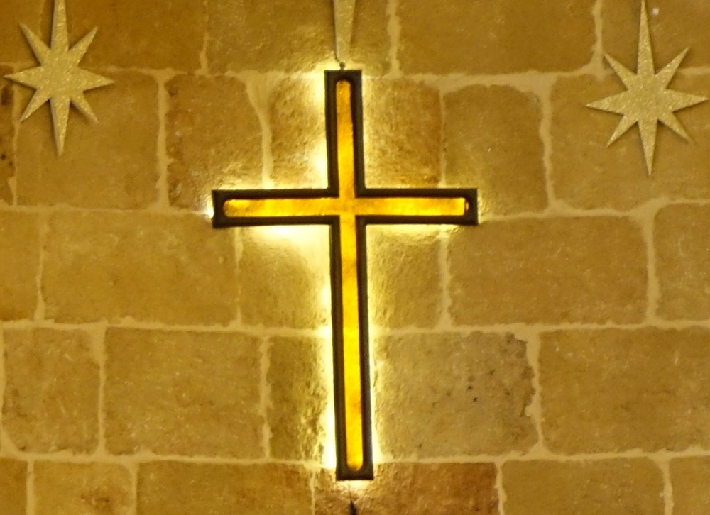 Cross from Lattakia Church in Syria