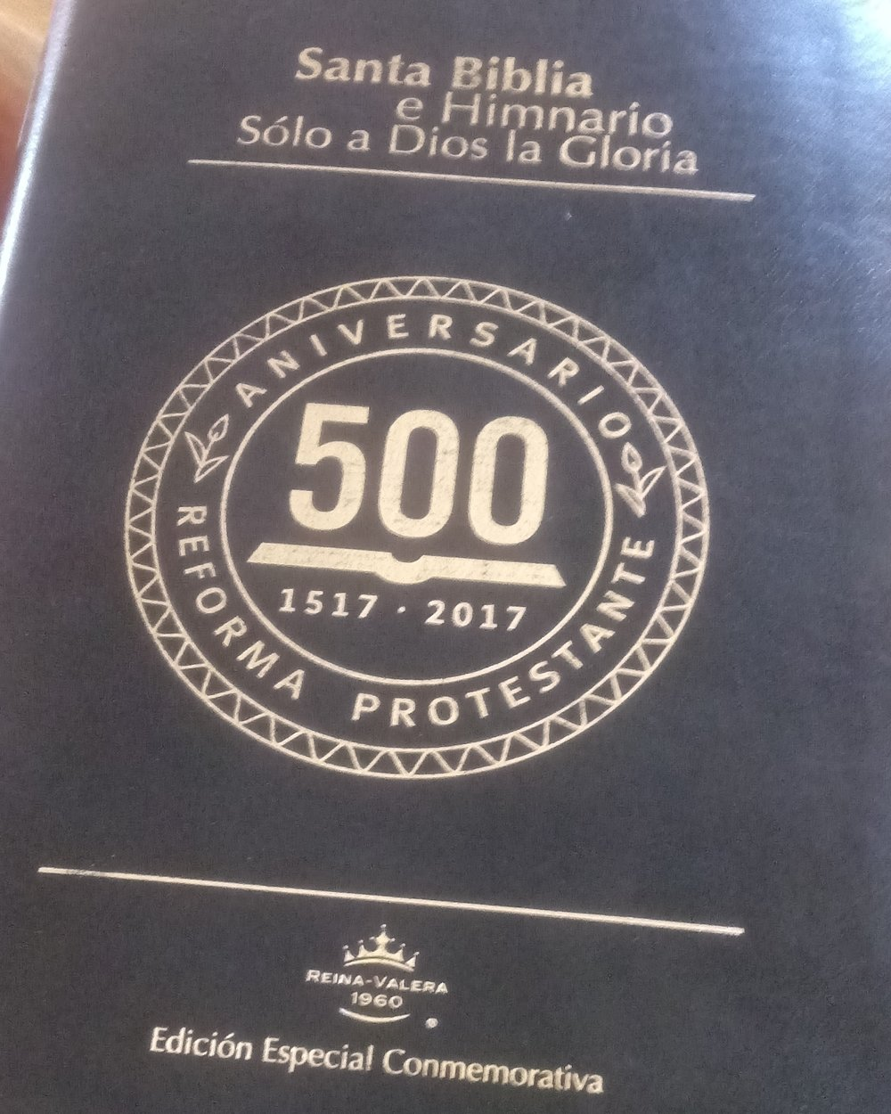 A popular edition of the Bible containing the Presbyterian hymnbook