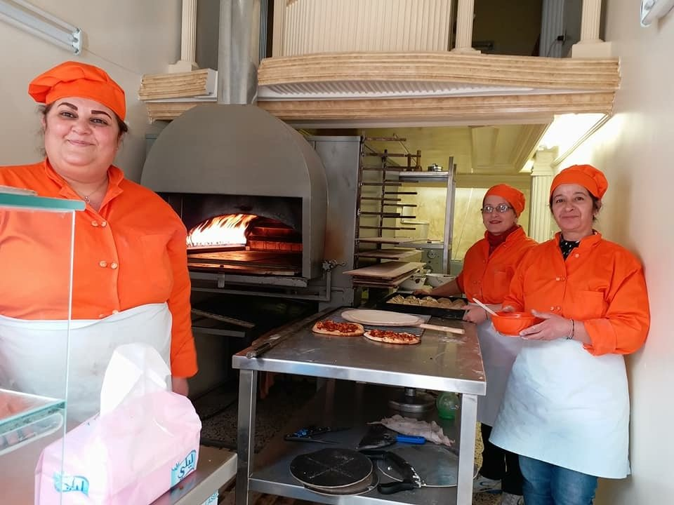 Syria Appeal March 2018 bakery ladies.JPG