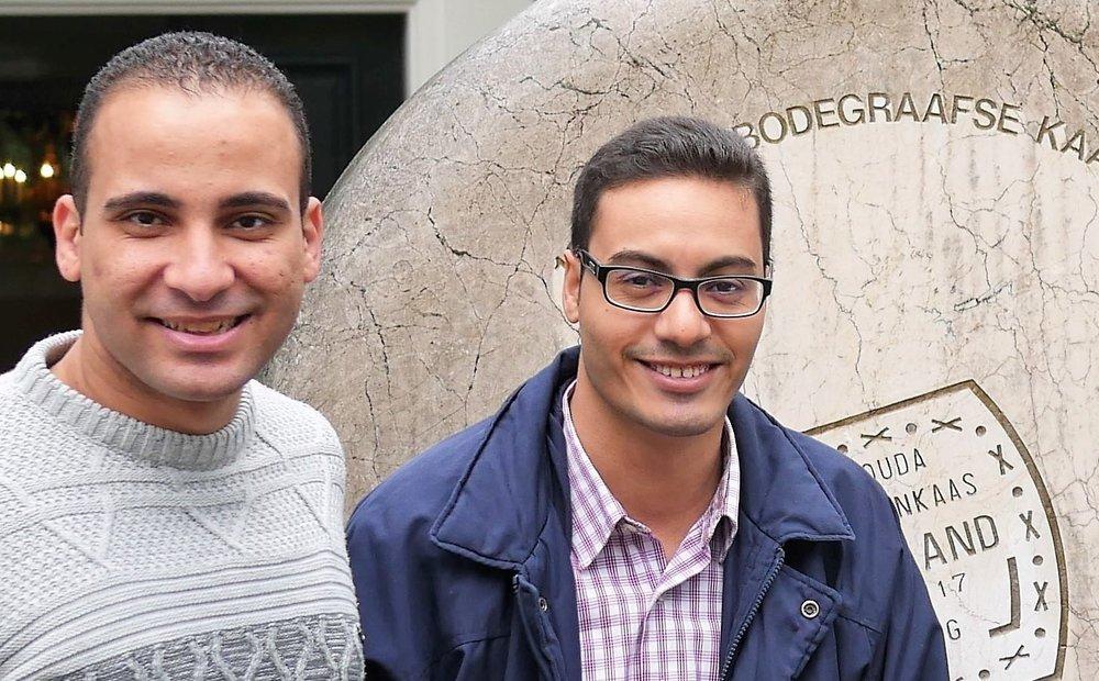 Ephraim Masoud and Maurice Gaber