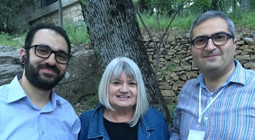 Rev. Rabih Taleb of Hamlin Hospital, Marilyn, and Pastor Elias Jabbour of Latakia