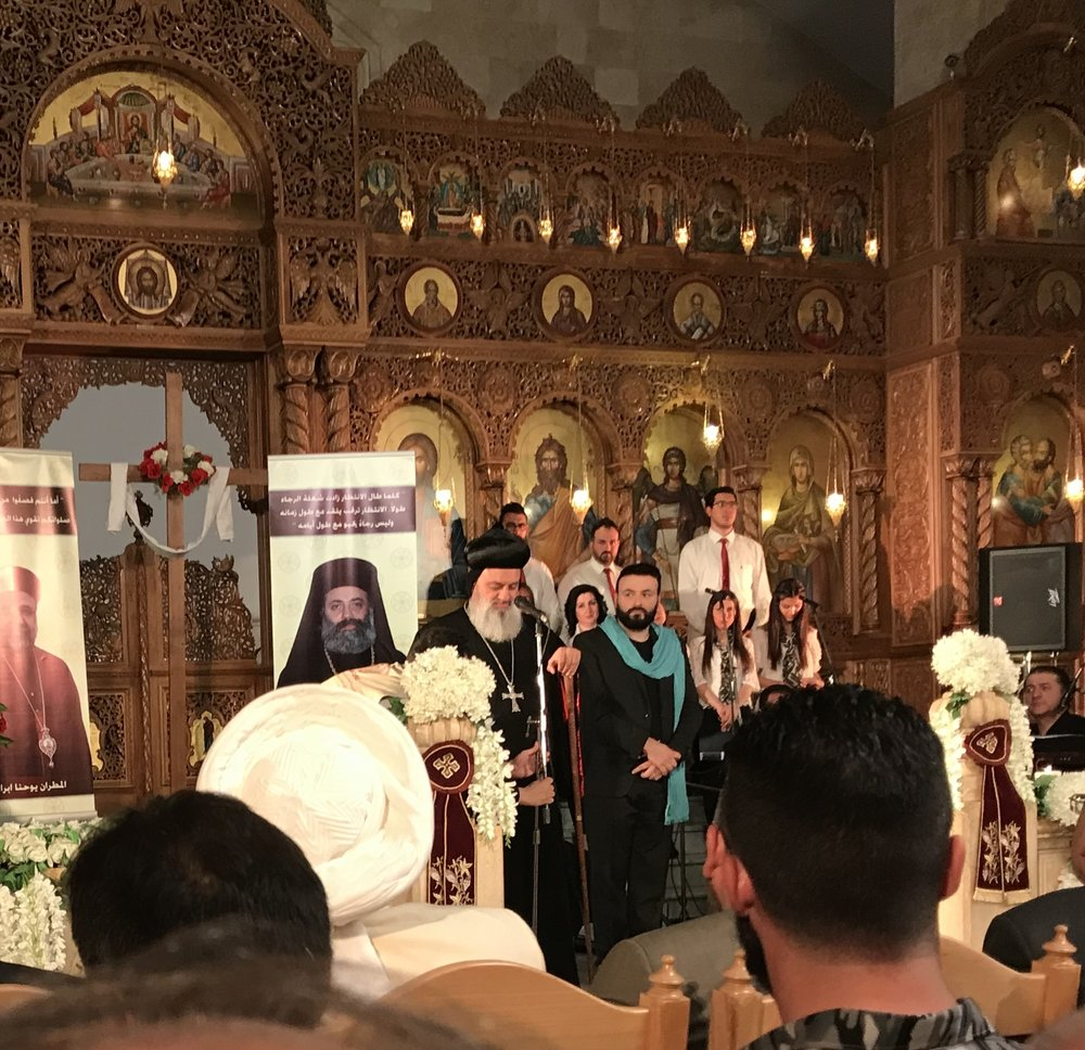 Syrian Orthodox Patriarch Ignatius Afrem II.