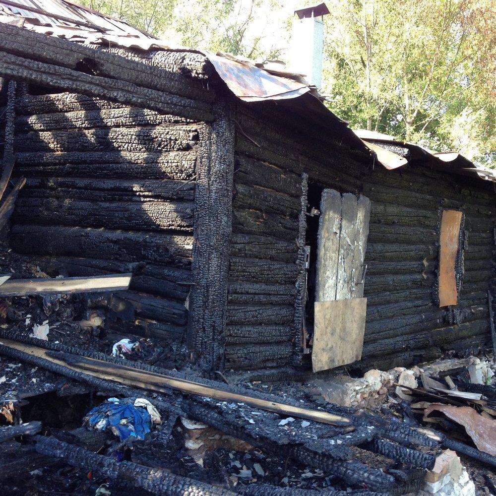 Former worship space destroyed by drunken neighbors