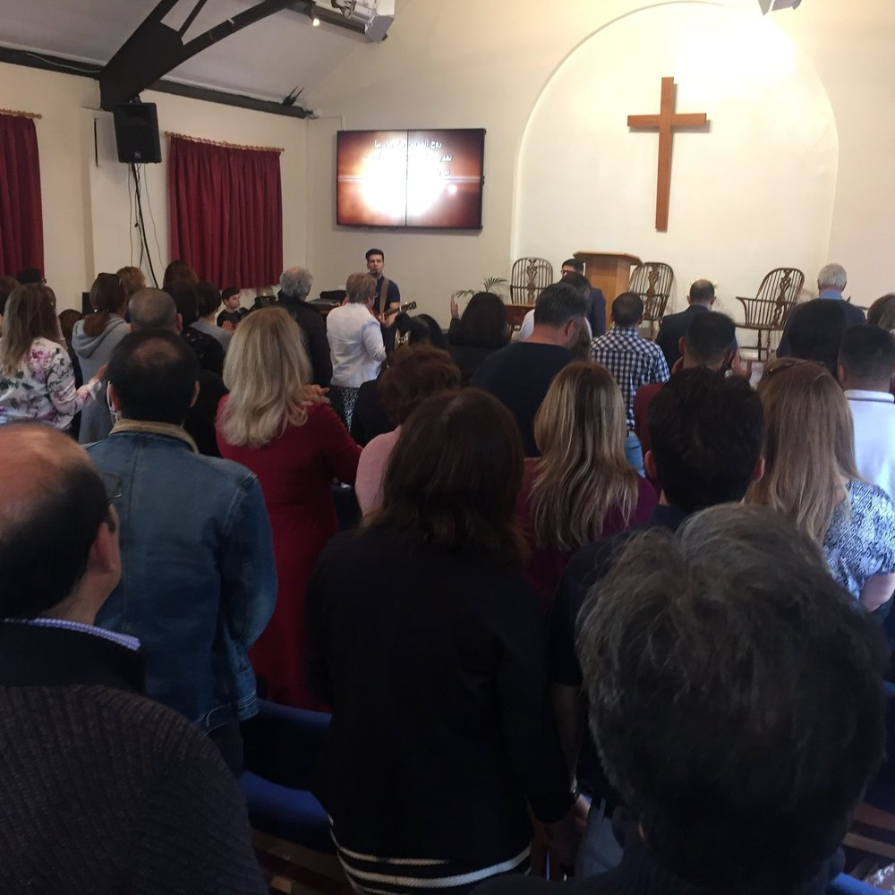 Worship at the Iranian Christian Fellowship