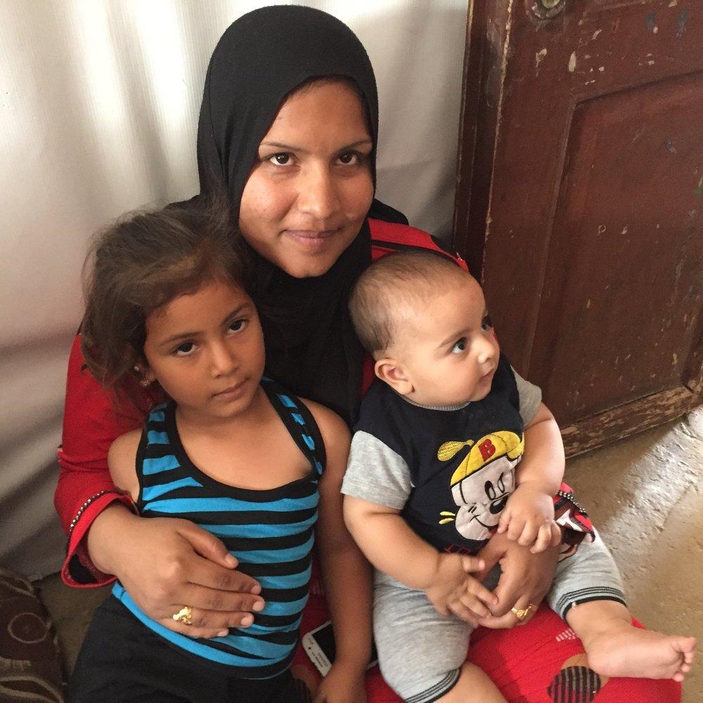 Refugee IDP Appeal June 2018 mom and children.JPG
