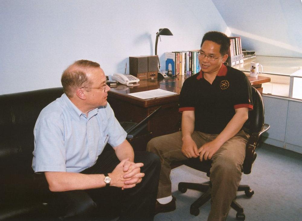 Rev. Dr. Jeff Ritchie and Dr. Wang Xuefu