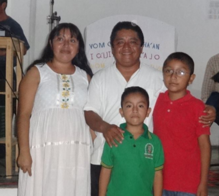 Rev. Usias Arcos and family