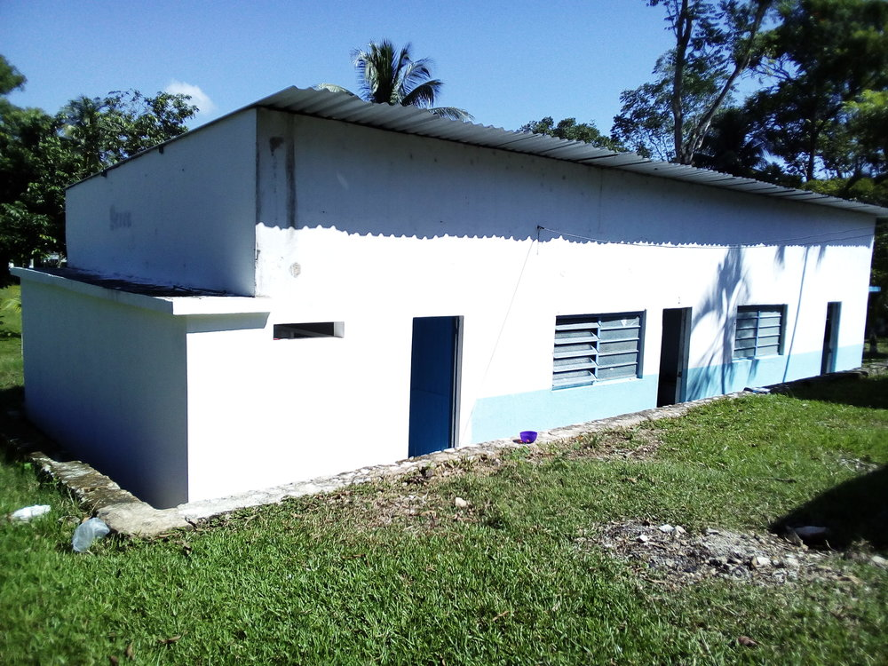 Restrooms built with support of The Outreach Foundation
