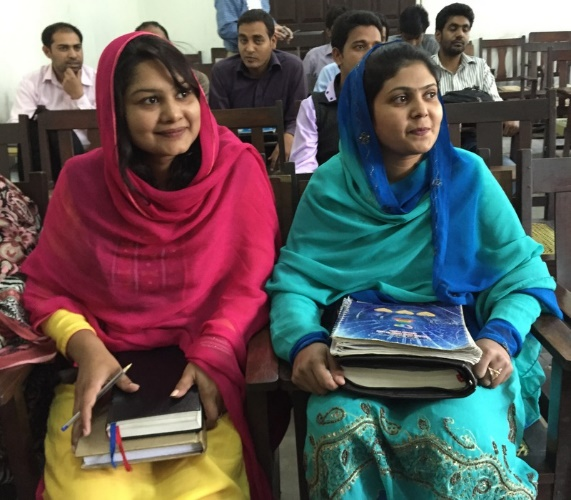 Pakistani Christians at Gujranwala Seminary