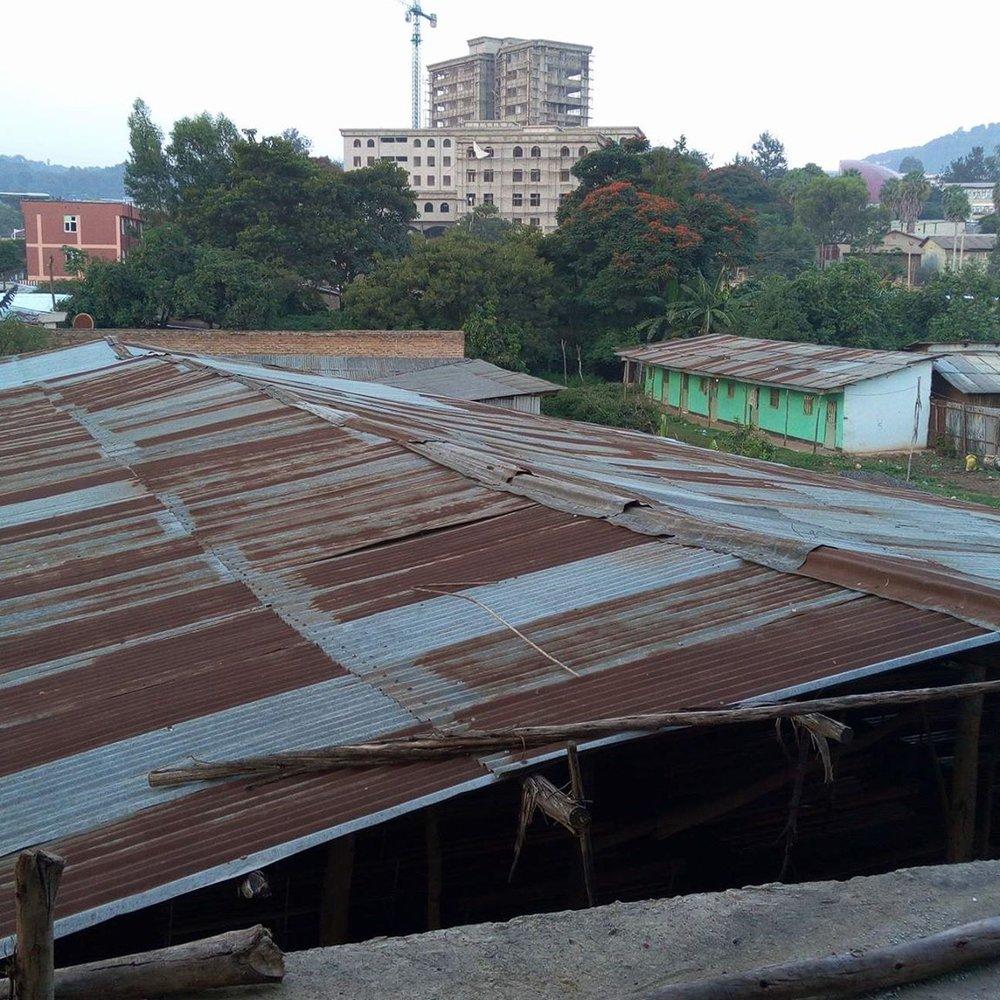Current sanctuary roof