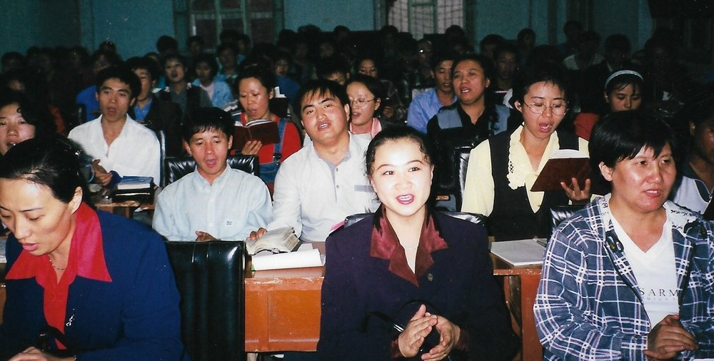 Heilongjiang Bible School students