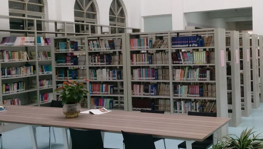 The library of Jiangsu Seminary which First Presbyterian Wilmington supported in a major way in 2009