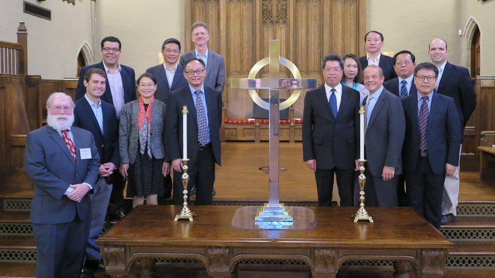 A visit by Jiangsu Christians to Wilmington in 2017
