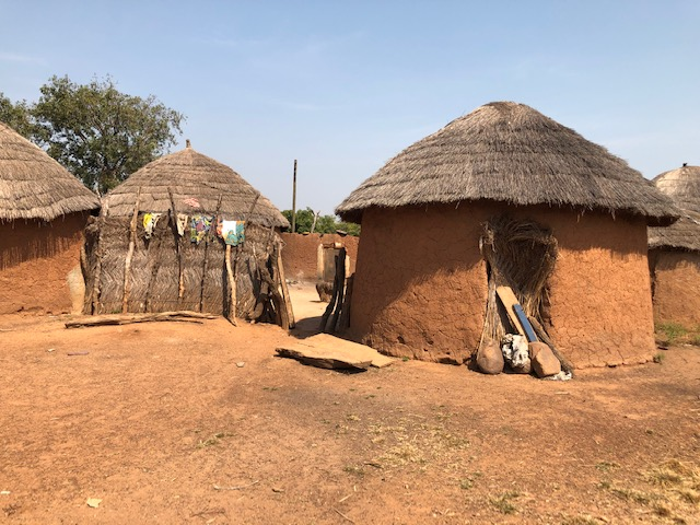 Traditional homes in Northern Region