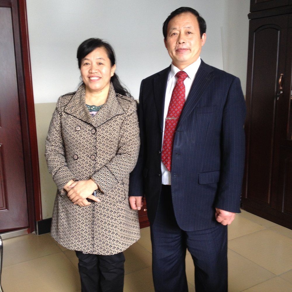 Wei Hai church leaders Rev. Tan and Rev. Lu