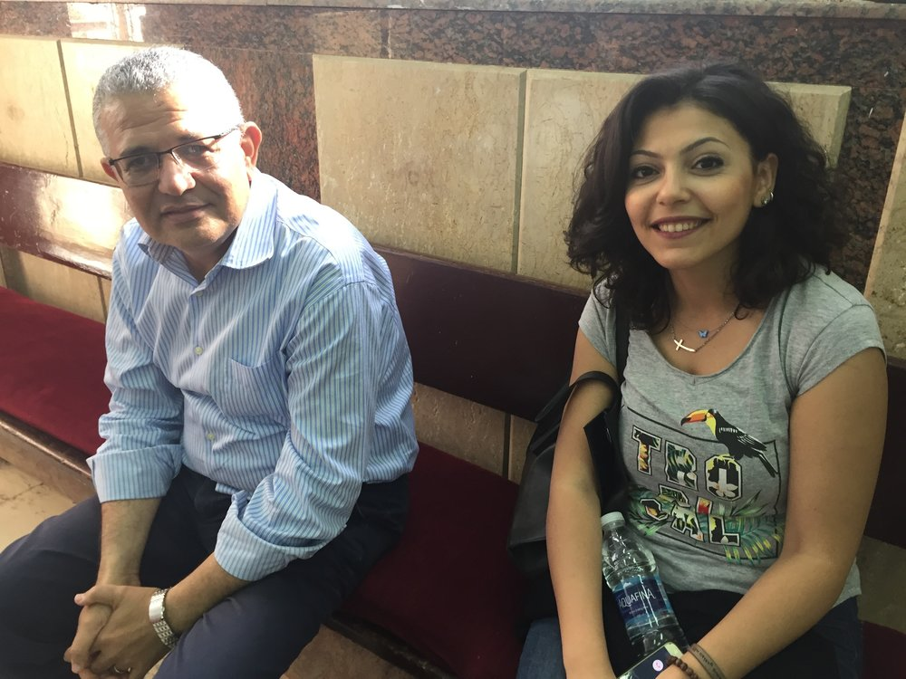 Dr. Tharwat Wahba and Eriny Ayad