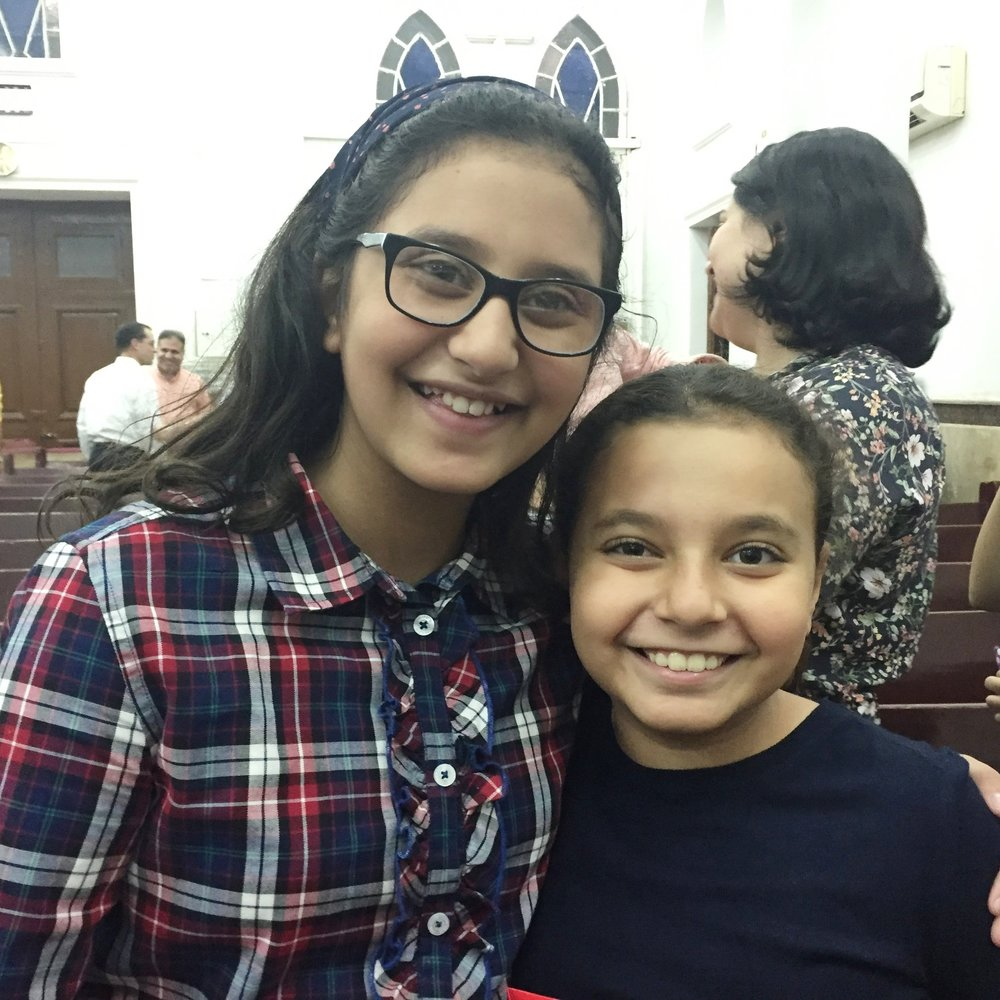 Best friends Ferah and Lily are also the future of Zagazig Church