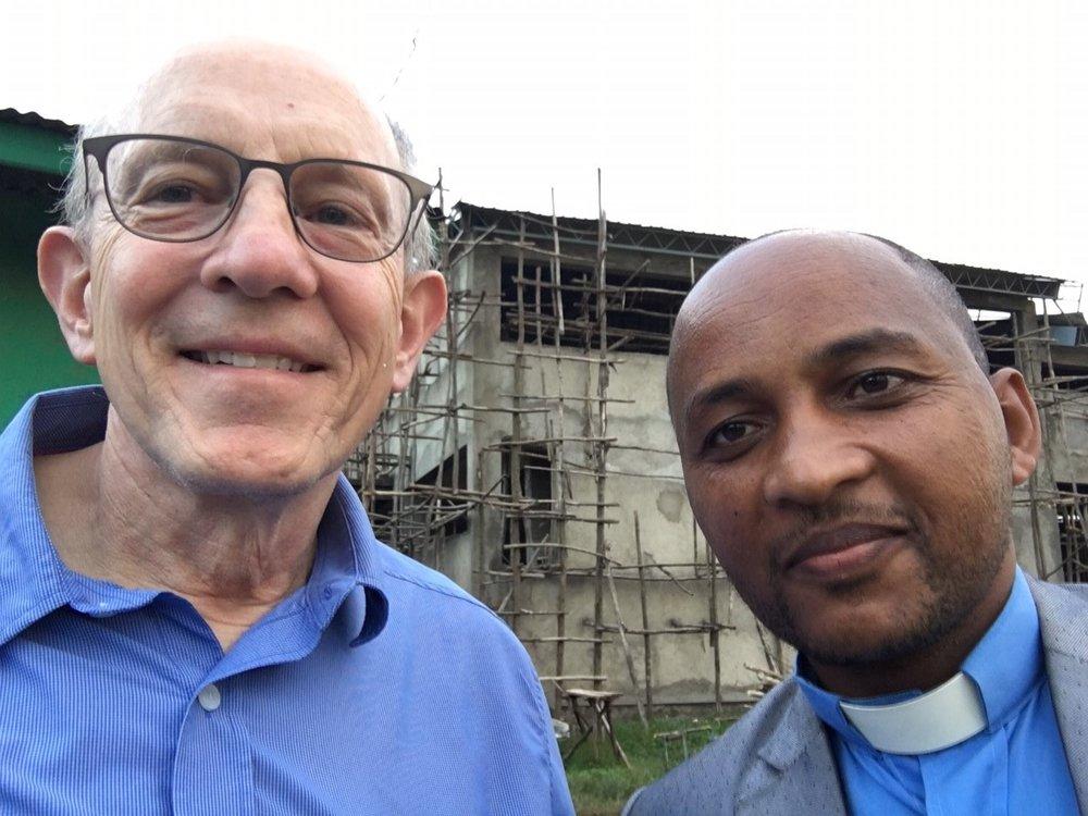 Rob and Rev. Asefa Disasa