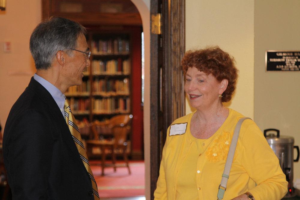 David Fung and Pam Bowman