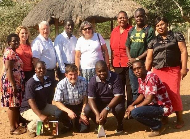 Namumu board members and Outreach team