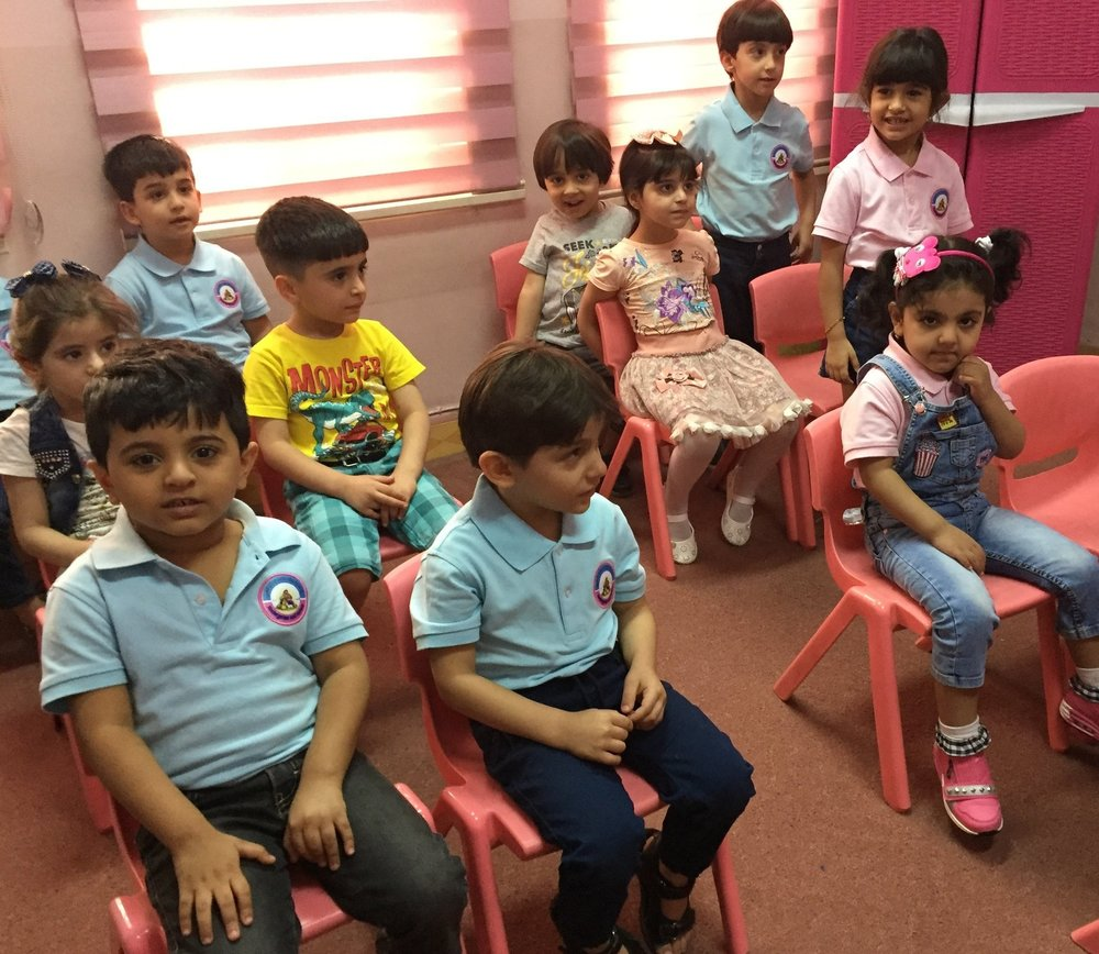 A thriving kindergarten makes a big impact in Basrah for this small church