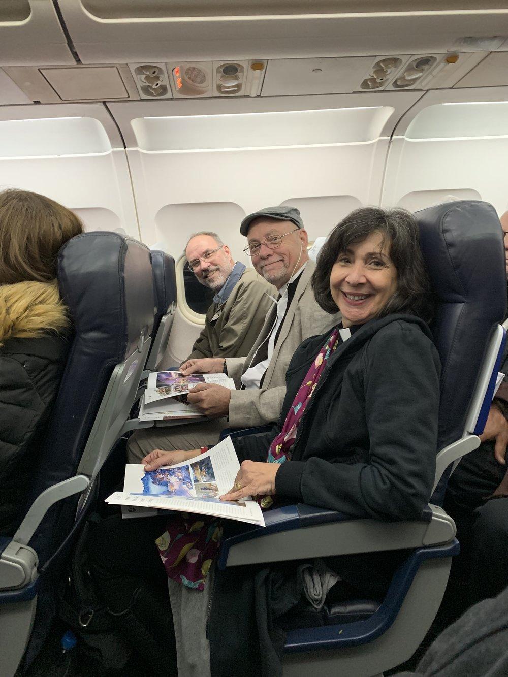 Steve, Carlos and Lisa hold down row 4
