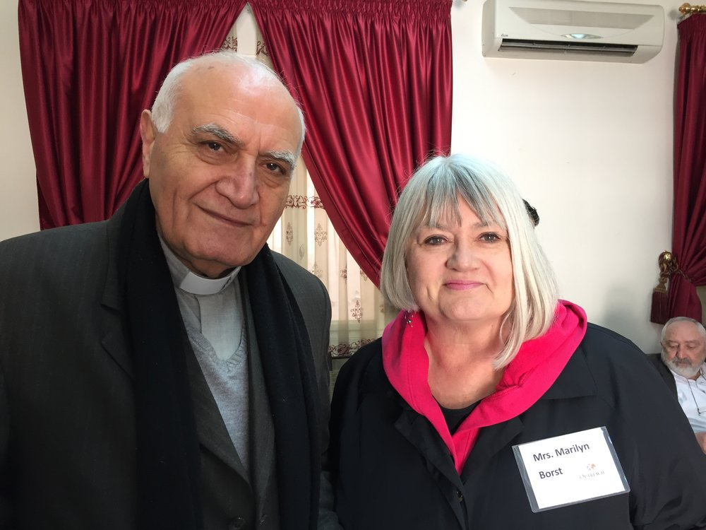 Rev. Yousef Jabbour and Marilyn