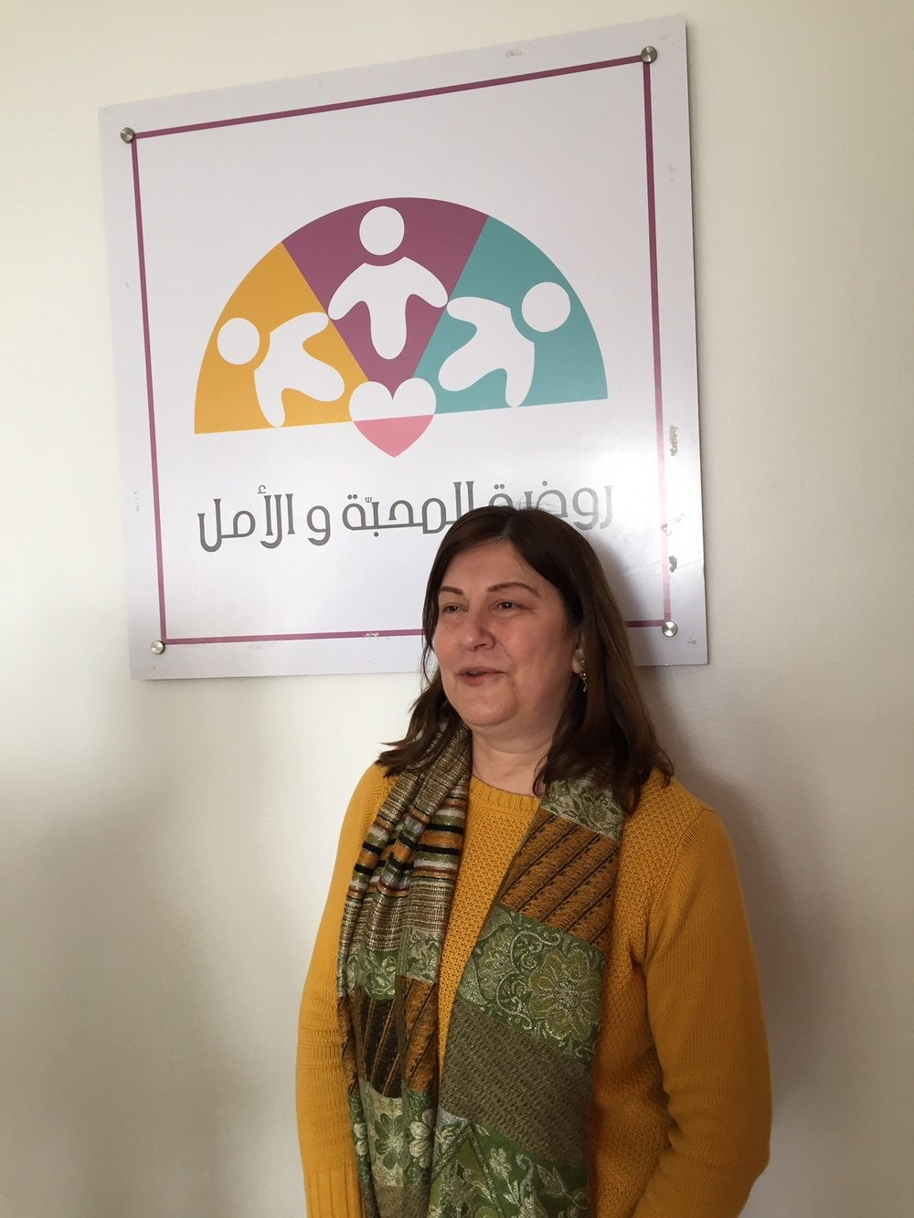Sylvia is the director of the Love and Hope Preschool