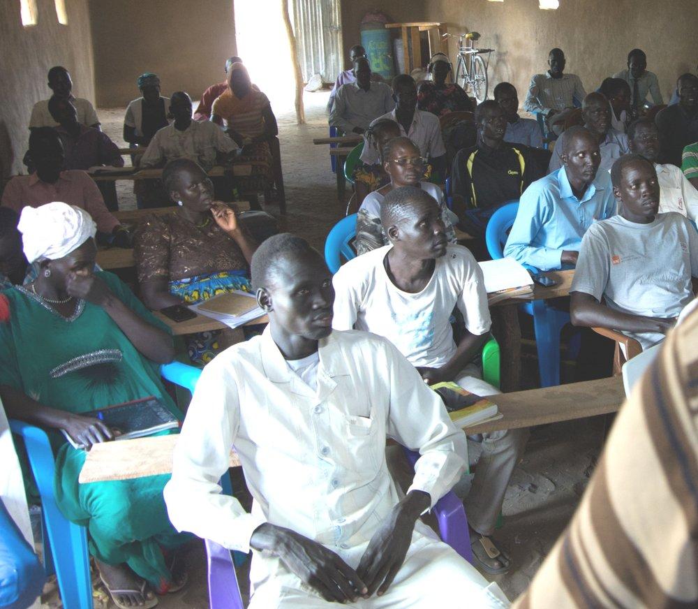 Giffen Institute of Theology students in Kakuma