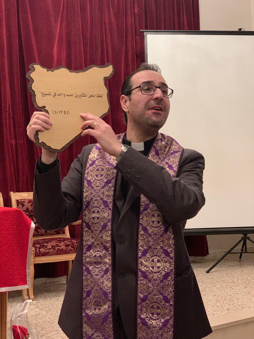 Rev Yacoub Sabbagh: one body